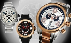 Nxs Swiss Watches: 62626177/silver Band-silver Dial
