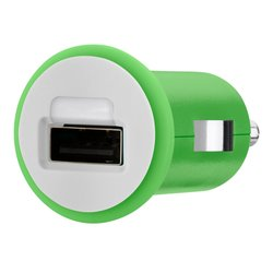 Belkin MIXIT Car Charger with USB Port 1 Amp - Green
