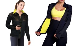 Etel Women's Hot Neotex Sauna Jacket - Black - Size: Medium