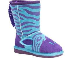 Muk Luks Zoo Babies Kids Boots - Zeb Zebra - Size: 11