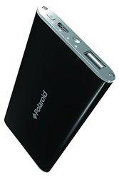 Polaroid External Battery Pack for All Smartphones - Retail Packaging - Black/Black
