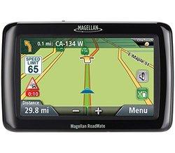 """Magellan Roadmate 4.3"""" Portable GPS Navigator - Black (MG-ROAD2120T-LM)"""