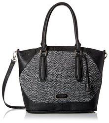 London Fog Women's Avery Shopper Handbag - Black