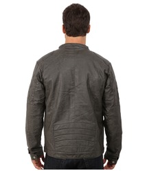 Steve Madden Men's PU Jacket - Grey - Size: Large
