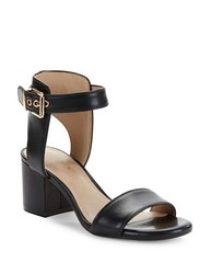 Lord & Taylor Women's 424 Fifth Harriet Open Toe Sandals - Black - Size: 7