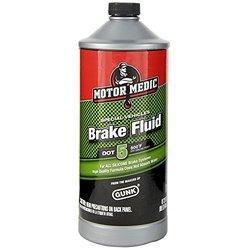 Motor Medic by Gunk M4032/6 DOT 5 Silicone Brake Fluid - 32 oz.