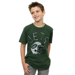 NFL New York Jets Youth Kickoff Crew T-Shirt - Green - Size: X-Large