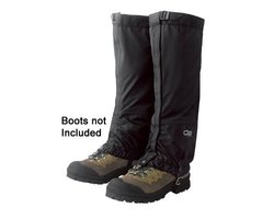 Outdoor Research Cascadia Gaiters (Black, Medium)