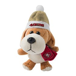 NFL San Francisco 49ers Plush Dog Ornament