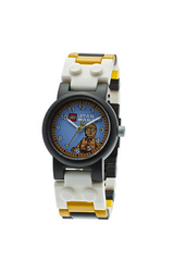 LEGO Star Wars C3PO Kid's Minifigure Interchangeable Links Watch Box