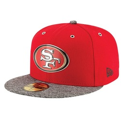New Era NFL 59Fifty Men's On Stage Cap San Francisco 49ers - Size: 6.75