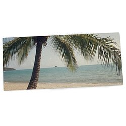 "KESS InHouse Catherine McDonald ""Tropic of Capricorn"" Ocean Photography Office Desk Mat, Blotter, Pad, Mousepad, 13 by 22-Inches"