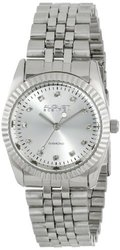 August Steiner Women's Diamond & Stainless-Steel Watch - Silver-tone