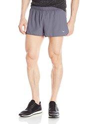 Mizuno Running Men's Outlaw 1.5 Shorts - Gray - Size: Large