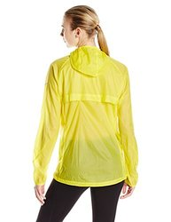 adidas Outdoor Women's Mistral Windjacket, X-Large, Bright Yellow