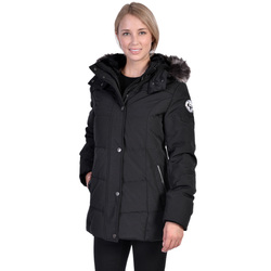 Nuage Arctic Expedition Women's Down Filled Jacket - Black - Size: L