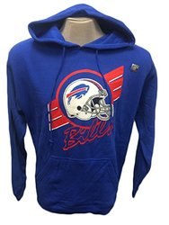 NFL Men's Buffalo Bills Hoodie Stripe - Royal - Size: Large