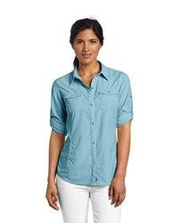 Columbia Women's Bug Shield Long Sleeve Shirt - Bluetime - Size: X-Small