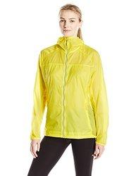 adidas Outdoor Women's Mistral Windjacket, Medium, Bright Yellow