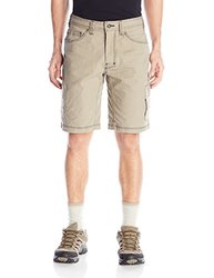 Men's Prana Murray Relaxed Fit Short Dark Khaki