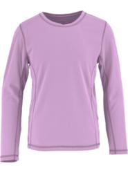 White Sierra Sunny Long-Sleeve T-Shirt - Girls ORCHID HAZE