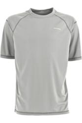 White Sierra Men's Techno Short Sleeve T-Shirt - Ash - Size: Large