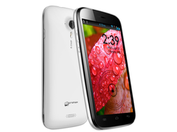 Micromax Canvas HD 4GB Smartphone Android - White (Canvas HD A116)
