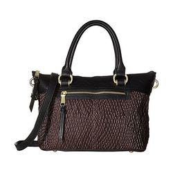 London Fog Women's Felicity Satchel Handbags - Brown - Size: One Size