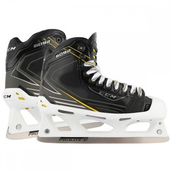 CCM Tacks 6092 Goalie/Goaltender Ice Hockey Skates - Black - Size: 10