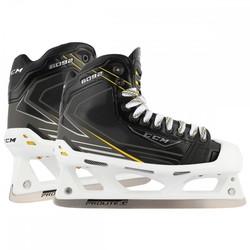 CCM Tacks 6092 Goalie/Goaltender Ice Hockey Skates - Black - Size: 9