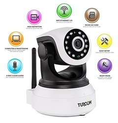 Turcom cyberVIEW S Security IP Wi-Fi Camera (TS-620)