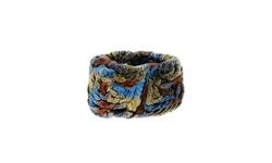 Avante Women's Knitted Rex Rabit Fur Headband - Multi - Size: One