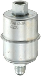 Fram In Line Stainless Steel Fuel Filter