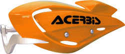Acerbis Uniko Koren MX Handguard Offers Full Protection - Orange