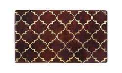 "J&V Textiles Kitchen Anti Fatigue Mats - Chocolate - Size: 20"" x 35"""