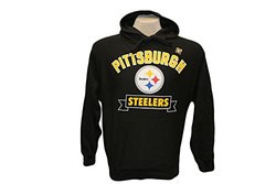 G-III Sports NFL Pittsburgh Steelers Hoodie Banner -Black -Size: Medium
