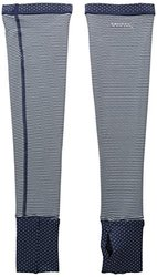 Saucony Swift Arm Warmers with Mitt - Midnight/Morning Dew - Size: Large