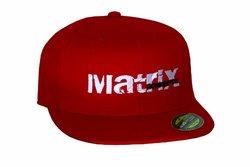 Matrix Concepts Basic Hat, Small/Medium, Red