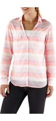 Columbia Women's Sun Drifter Shirt - Coral - Size: Medium