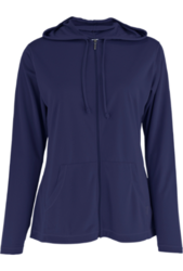 White Sierra Women's Bug Free Zip Hoodie - Evening Blue - Size: Small