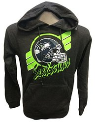 G-III Sports NFL Seattle Seahawks Hoodie Stripe - Charcoal - Size: Large