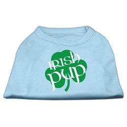 Dog Supplies Irish Pup Screen Print Shirt Baby Blue Xxl (18)