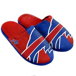 NFL Buffalo Bills Split Color Slide Slipper, X-Large, Blue