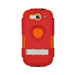 Trident Build Your Own KRAKEN A.M.S. Case for Galaxy S III i9300/SCH-1535/SPH-L710/SGH-T999 - Retail Packaging - Red/Orange