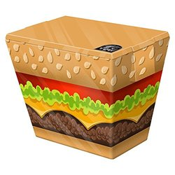 Yew Stuff 24 Can/20 Liter Cooler - Burger