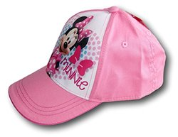 Disney Girls Minnie Mouse Baseball Cap Hat - Pink