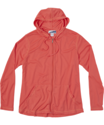 White Sierra Bug Free Full Zip Hoodie - Women's WATERMELON