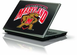 "Skinit Protective Skin Fits Latest Generic 17"" Laptop/Netbook/Notebook (University of Maryland Terrapins)"