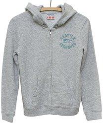 Junk Food NFL Seattle Seahawks Zip Fleece Jacket - Size: Medium