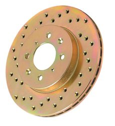 Power Stop JBR545R Cross Drilled Performance Brake Rotor - Right